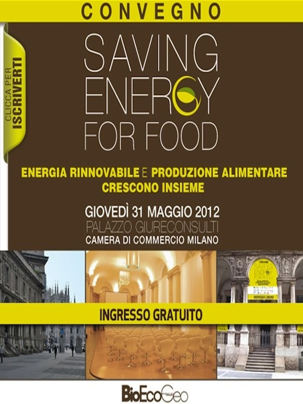 Alimentazione ed energie rinnovabili