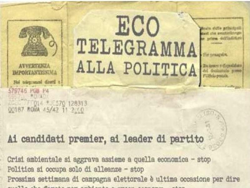 Eco-telegramma
