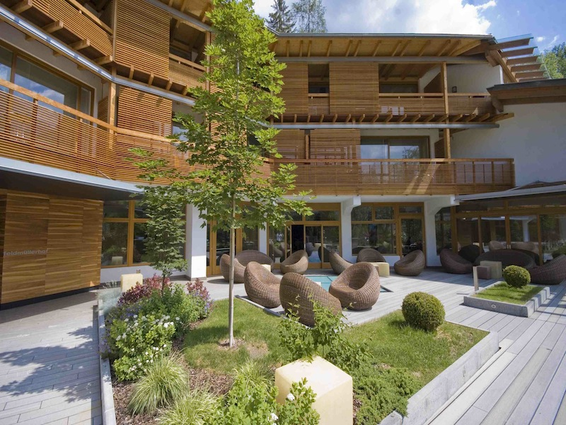 Feldmilla designhotel trentino alto adige for Design hotel alto adige