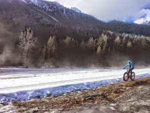 snow bike forni