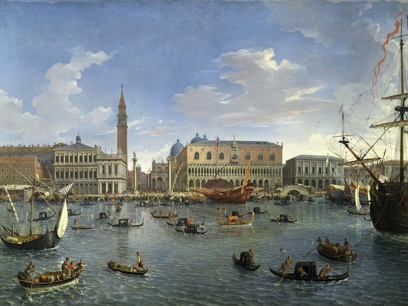 23. VAN WITTEL Palazzo Ducale Venezia San Giorgio