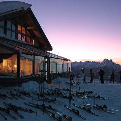 Sciare nella magia dell'alba in Trentino