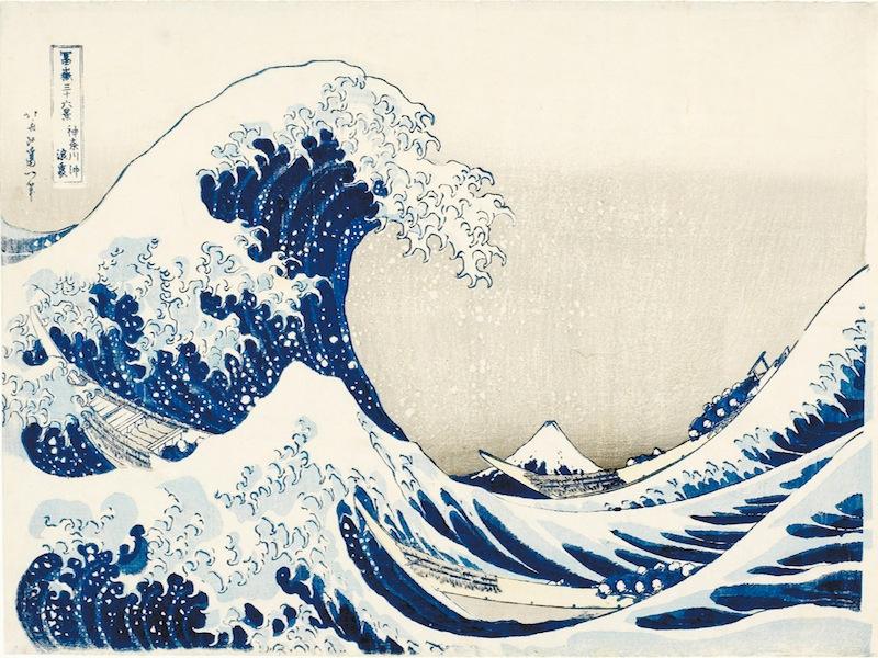 La natura del mondo fluttuante: Hokusai, Hiroshige, Utamaro