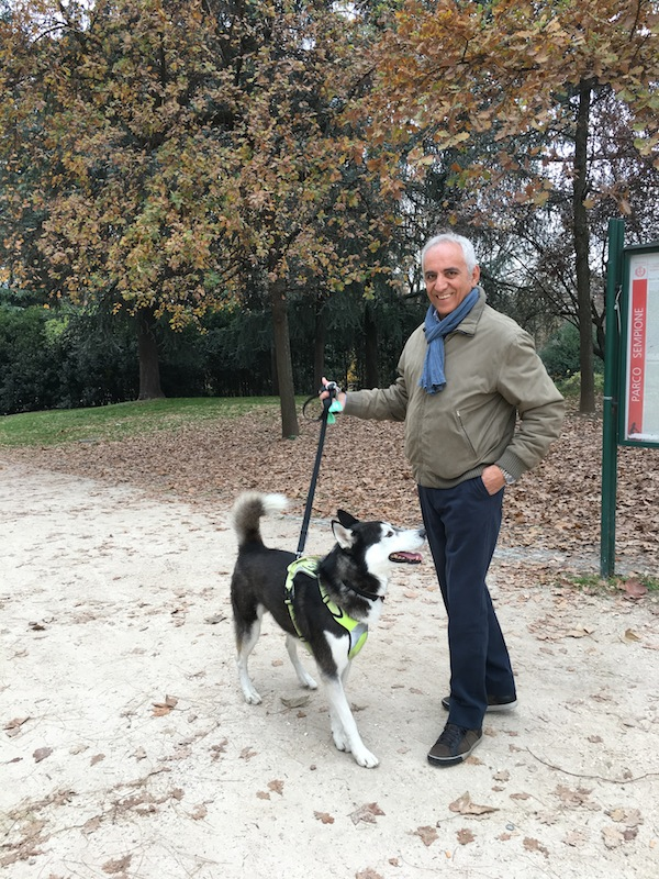 A spasso con Matisse… nella nuova Area Cani al Parco Sempione