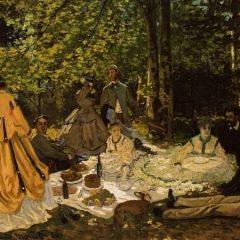 Classe e stile del semplice picnic