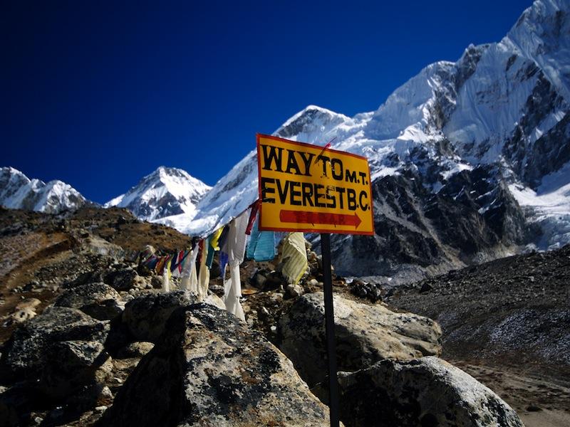 A tavola sull'Everest