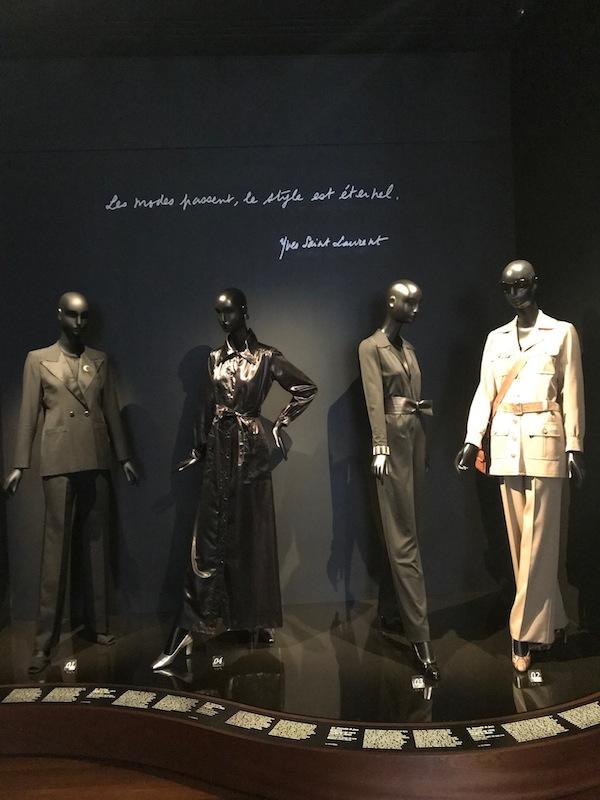 Il museo Yves Saint Laurent a Parigi